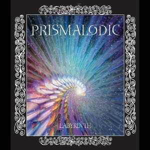 "CD cover for the electro pop group Prismalodic's album ""Labyrinth"""